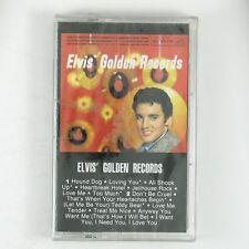 ELVIS PRESLEY Elvis' Golden Records CASSETTE 1984 ROCKABILLY STILL SEALED.