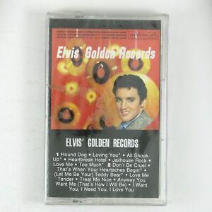 ELVIS PRESLEY Elvis' Golden Records CASSETTE 1984 ROCKABILLY STILL SEALED.
