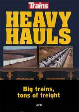 Heavy Hauls Big Trains, Tons of Freight DVD coal grain oil CN BNSF CP CSX FEC