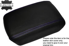 PURPLE STITCHING LEATHER ARMREST SKIN COVER FITS NISSAN X-TRAIL T31 2008-2014