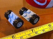 LEGO Grey Base 2x2 Grey Wheel Car Vehicle 4 Wheels in Total