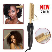 Electric Hair Curler Comb Wet Dry Hair Curling Iron Straightener 110V-240V YZ