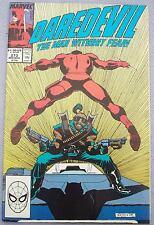 MARVEL Daredevil #273 NEAR FINE Ann Nocenti John Romita COMIC BOOK Graphic Novel