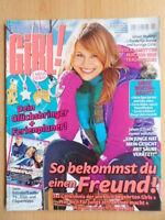 BRAVO GIRL 1 - 27.12. 2007 Mode Beauty Romantik Liebe Boys Johnny Depp + Poster!
