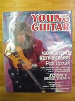 YOUNG GUITAR 1990 March 3 Music Magazine Japan Book George Lynch Japanese