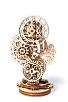 UGears Steampunk Clock 3D Wooden Puzzle - Wooden Clock Mechanical Model Set - -