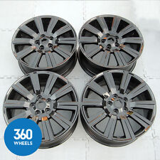 "GENUINE LAND RANGE ROVER DISCOVERY 3 4 19"" 10 SPOKE ALLOY WHEELS BLACK LR032369"