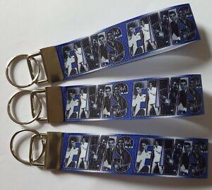 Elvis Presley Style King Rock And Roll  Music Keyring Key Fob Handmade Fun Gift