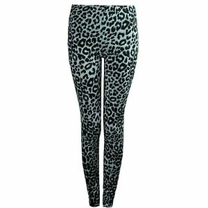 Women's Print Pattern Stretch Full Long Ladies  New Leggings Small & Plus Sizes