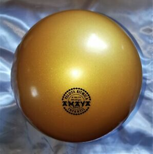 RSG Ball JUNIOR BALL Gymnastikball GOLD metallic 150-170mm 300g NEU!