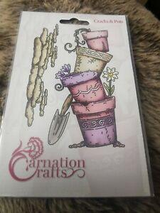Carnation Crafts Cracks And Pots Die Set