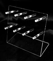 Clear Bangle Bracelet Keychain Display Holder Stand Acrylic 8 Hooks Display