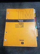 John Deere JD450-B Crawler Loader Parts Catalog oem TM1033