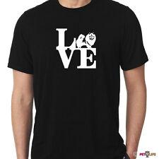 Love Keeshond Tee Shirt park kees