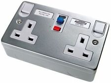 RCD Protected Circuit Breaker Home Electrical Fittings