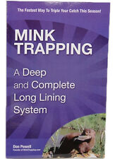 Mink Trapping Complete Long Lining by Don Powell (Book)