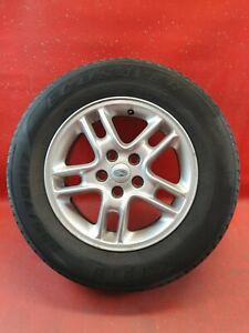 """04-09 LAND ROVER DISCOVERY 3 TWIN SPOKE 17"""" INCH ALLOY WHEEL RRC002 TYRE r107"""