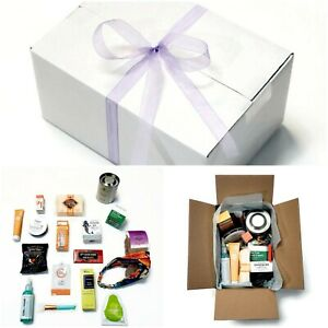 Luxury Gift Box 17pc Set Curated For Women Spa Beauty Skin Care & Scented Candle