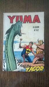 ALBUM YUMA N°62  LUG 1982 TBE (237-238-239)