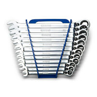 Capri Tools 6-Point Reversible Ratcheting Wrench Set, 8-19 mm,12-Piece