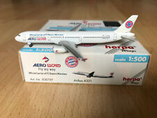 "Herpa Wings: Aero Lloyd - Airbus A321 ""FC Bayern München"" (508759)-1:500-TOP/RAR"