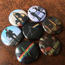 "Pink Floyd 1"" Button/Badge Set - VINTAGE pins - Piper, Darkside, Wish You Were"