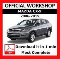 OFFICIAL WORKSHOP Manual Service Repair Mazda CX-9 2006 - 2015