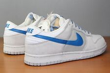 Nike Dunk Low Sz 11.5 DS Neutral Grey New Blue 318020-041 VTG