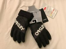 OAKLEY FACTORY WINTER GLOVE 2.0 BLAC XL SNOW SNOWBOARDING SKI BLACKOUT