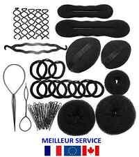 Set pour cheveux Kit Accessoires Epingle Coiffure Chignon Clip Pingle Donut
