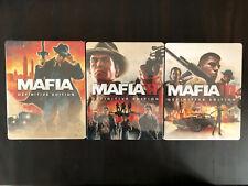 Mafia Trilogy Steelbooks - Neu - Custom - Ohne Spiele