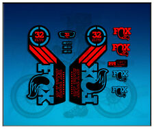 PEGATINAS STICKERS FORK FOX 32 PERFORMANCE ELITE  AM100 AUFKLEBER DECALS ADESIVI