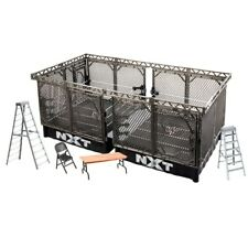 WWE Wrekkin NXT TakeOver War Games Cages Playset 2 Wrestling Rings Accessories