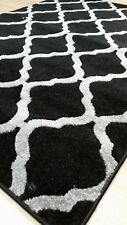 Silver Teal Red Black Beige Large Extra Large Rug Runner Carpet Mat Soft Touch