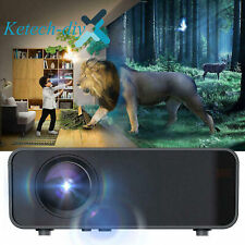 Android 4K 3D HD 1080P 12000Lumen LED Projector WIFI Bluetooth Home Cinema L2KD