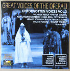 Great Voices of the Opera II - Unforgotten Voices Vol.2 - Fritz Krauss u.a. - CD