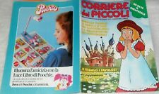 CORRIERE DEI PICCOLI ANNI 80,1987,37-FUMETTI ISIDORO,POLLYANNA,ALICE,LOTTI GOLF
