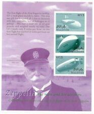 MODERN GEMS - Maldives - Zeppelin - Sheet Of 3 - MNH
