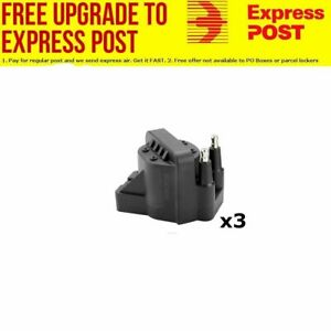 IGNITION COIL x 3 FOR HOLDEN COMMODORE VN-VY  V6 3.8L