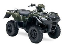 SUZUKI LT-A750X KingQuad  ATV Service ,Owner's and Parts Manual CD
