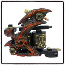 SOLONG Tattoo Machine Taty Coil Gun 10 Wraps Cast Iron Frame FREE POSTAGE