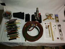 Bethlehem Bravo Burner Torch flamework glassblowing glass blowing Lot Tools Kit