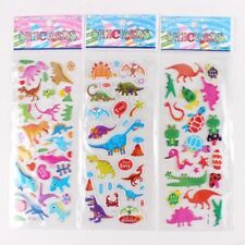 kids dinosaur sticker sheets buy 5 get 5 free stickers birthday party  lolly bag