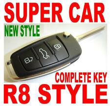 SUPER-CAR R8 FLIP KEY REMOTE FOR TOYOTA GQ43VT2OT KEYLESS ENTRY FOB CLICKER 4BD2