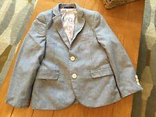 Boys Next Signature range blue, lined cotton blazer size 7yrs
