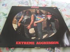 KREATOR -EXTREME AGGRESSION- AWESOME MEGA RARE LTD PICTURE VINYL LP NOISE 1989