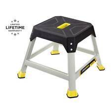 Gorilla Ladders Platform Step Stool Steel 300 Lb. Max Sturdy Non-Slip Heavy Duty