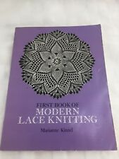 Modern Lace Knitting By Marianne Kinzel - Softcover, First Book