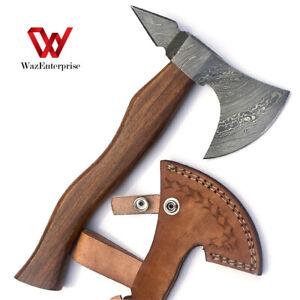 Damascus Steel Axe Hatchet Tomahawk Knife 10.00 Inches Axe