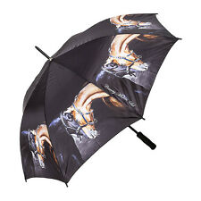 """Beautiful stick Umbrella - """"OLD FRIENDS"""" from Country Matters-"""